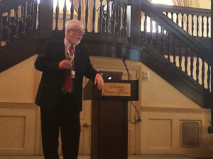 Judge MacKenzie speaking at the MATCP Annual Training Conference
